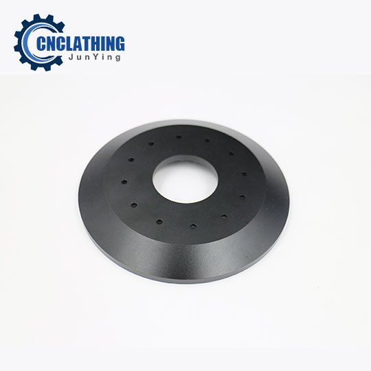 Black Anodized 6061-T6 Aluminum CNC Machined Parts