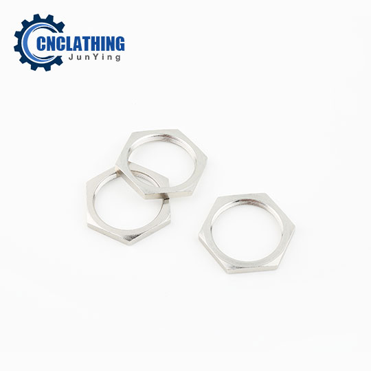 Plating CNC Turned Steel/Brass Cam Lock Housing Nuts Hex Nut