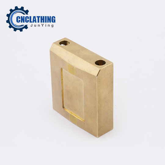 Non Standard Brass Padlock CNC Milling Parts Precision Hardware
