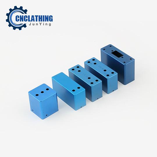 Anodized Aluminum CNC Components – Blue Anodized Electronic Case Enclosure