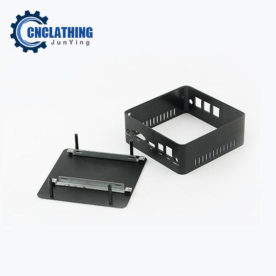 OEM CNC Machining Aluminum Alloy Digital Cable Set Top Box Enclosure