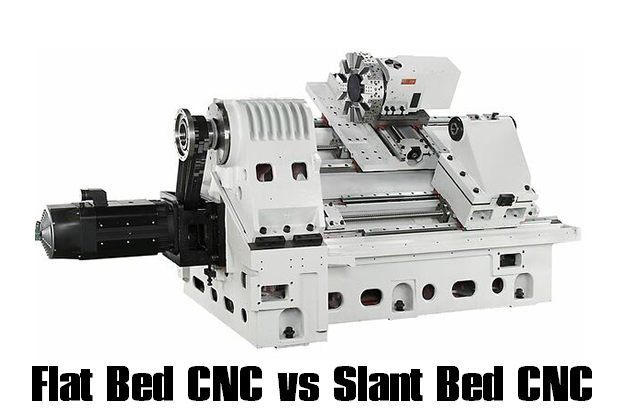 What is Slant Bed Lathe – Difference Between Flat Bed CNC Lathe and Slant Bed CNC Lathe | CNCLATHING