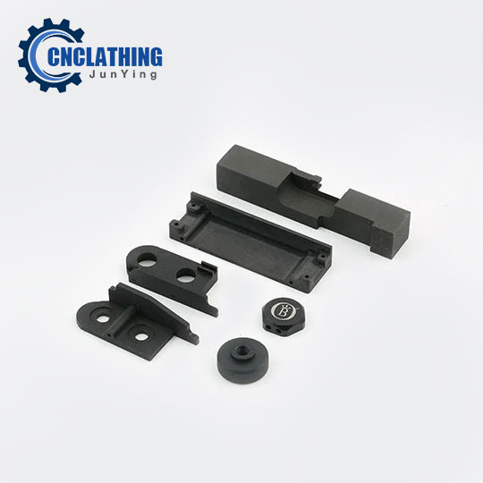 Black Anodized Aluminum 6061 Milling/Turning/Drilling Machine Parts