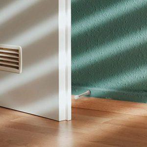 10 Pcs Door Stopper 3-1/8″ Screw-in Spring Heavy Duty Flexible Door Stop for Protect Walls and Doors-Stain Nickel