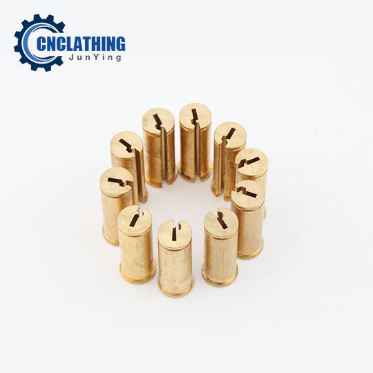 Wire EDM Machining Copper/Brass Lock Core Parts