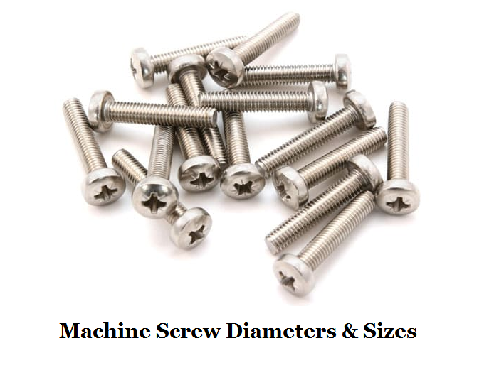 Machine Screw Diameters Chart and Unified National Thread Sizes – What is a Machine Screw | CNCLATHING